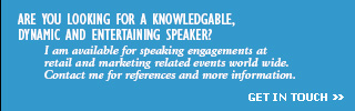 LOOKING FOR A SPEAKER? - CLICK TO GET IN TOUCH